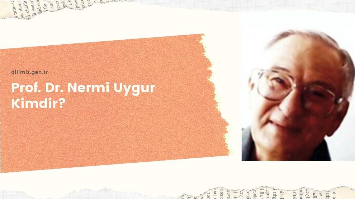 Prof. Dr. Nermi Uygur Kimdir? Eserleri