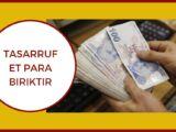 Nasıl Para Biriktirilir Tasarruf Edilir?