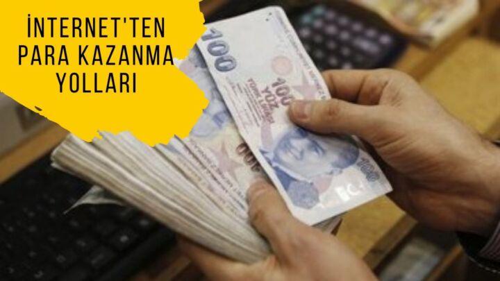 internetten para kazanma yolları – Kesin – 2020