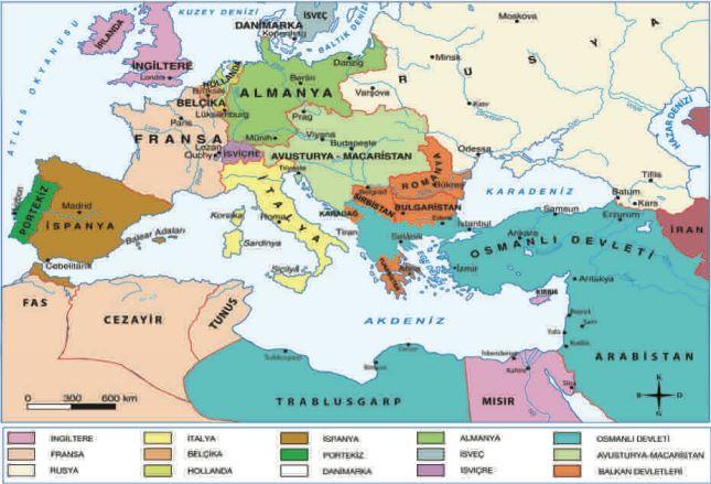 19. Yüzyılda Avrupa'daki Gelişmeler 1