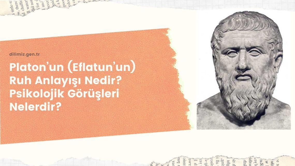 Platon'un (Eflatun'un) Ruh Anlayışı Nedir? Psikolojik Görüşleri Nelerdir?