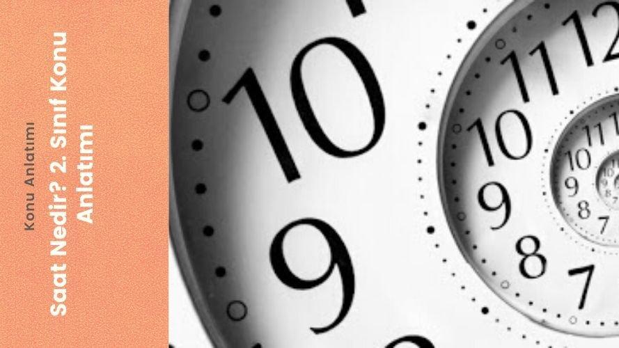 Saat Nedir? 2. Sınıf Konu Anlatımı