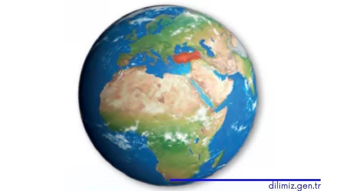 Türkiye'nin Dünya üzerindeki konumu