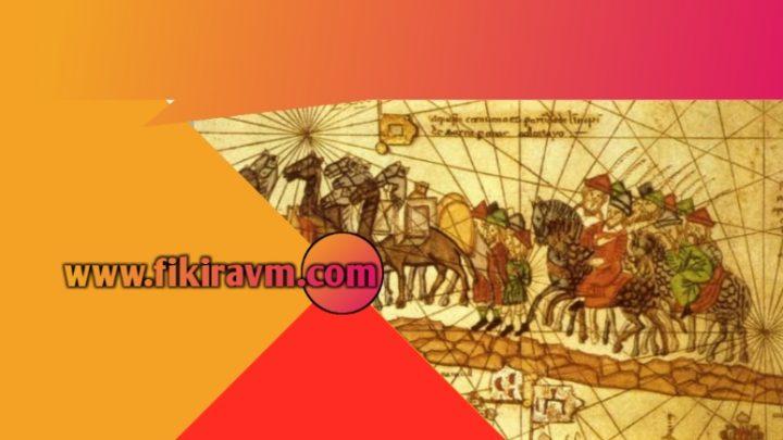 Anadolu'nun Ekonomik Güç Simgesi Tarihi Ticaret Yolları Harita ve Güzergah